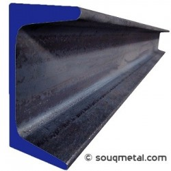 Steel UPN Channel 50x25 6mm - 6m - A36 / S275