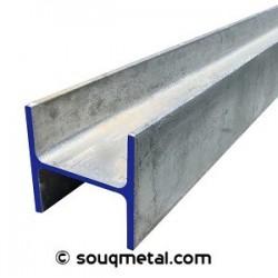 Steel Beam HEA 120 8mm - 6m - A36 / S275