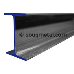 Steel Beam IPE 100 5.7mm - 6m - A36 / S275